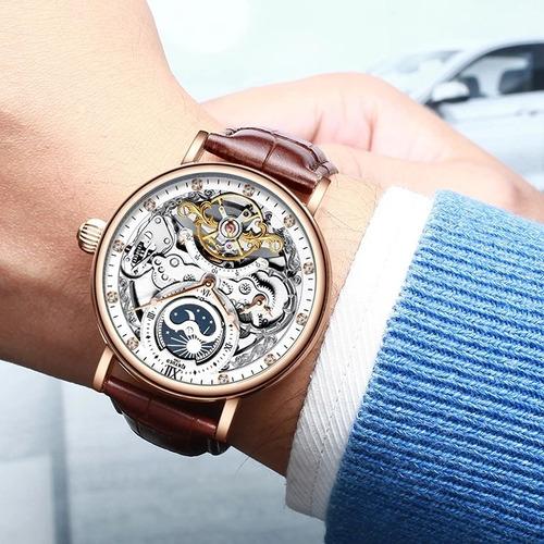 reloj de lujo automático kinyued
