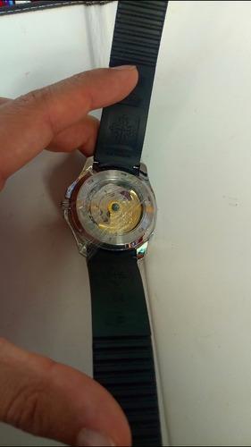 reloj de lujo caucho patek philippe automático