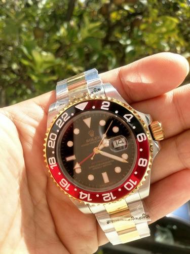 reloj de lujo gmt master ll, varios colores