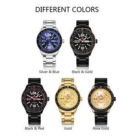 Atm Y México Steel Guess Reloj Libre Joyas Relojes En Mercado 5 WH29IED