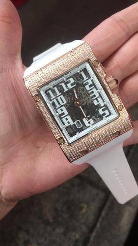 reloj de lujo rm 16 automatico richard mille oro