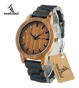 distribuidor mayorista a604b f1db1 Reloj De Madera Bobo Bird 100% Original Remate W04