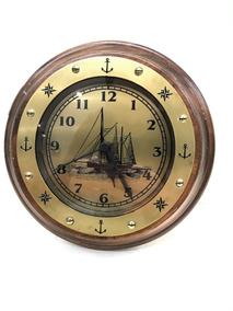 8f917bec5d46 Reloj Nautico Madera Bronce en Mercado Libre Argentina