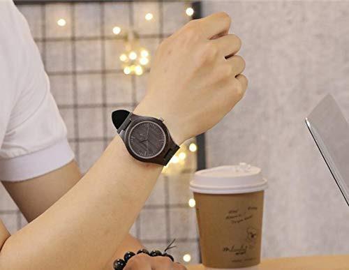 reloj de madera personalizado para hombres papa hijo hijo gr