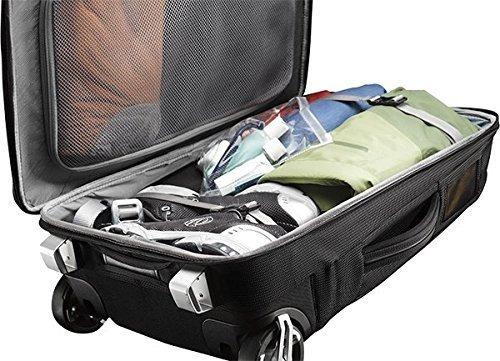 reloj de mano con ruedas con correas de mochila 38 litros