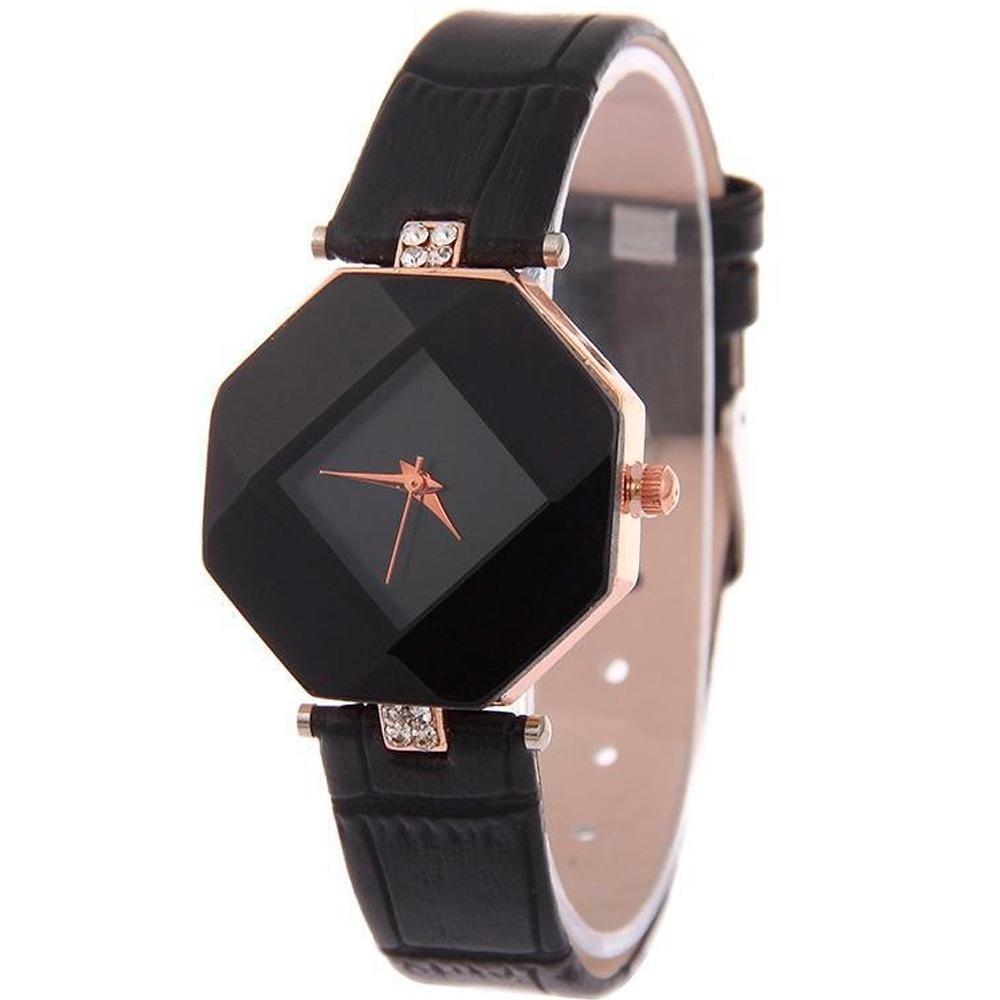 cdda1c2d288e Reloj De Mano Para Dama Mujer Color Negro H9033 -   69.00 en Mercado ...