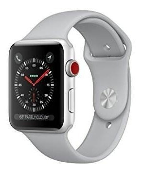 reloj de manzana serie 3, caja de aluminio sport 42mm gps +