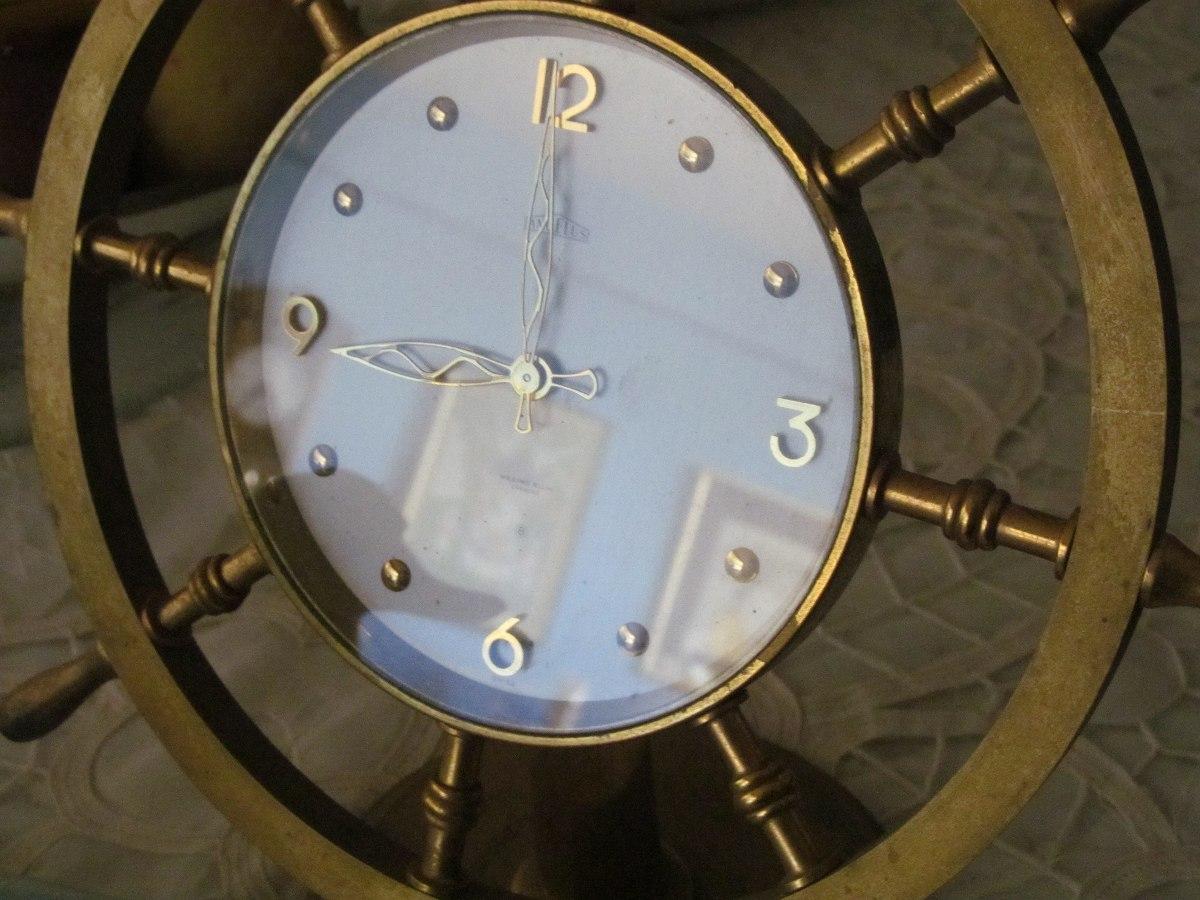 cbf9c6ef16ae Reloj De Mesa Angelus De Cuerda 8 Días Bronce Año 54 - Bs. 3.299.589 ...