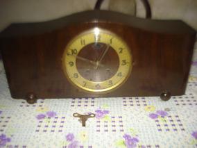 Reloj De Mesa Antiguo Urgos Ingles Enorme Leer No Envio