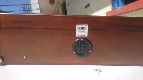 reloj de mesa chimenea bulova  b1513 westminster ave maria
