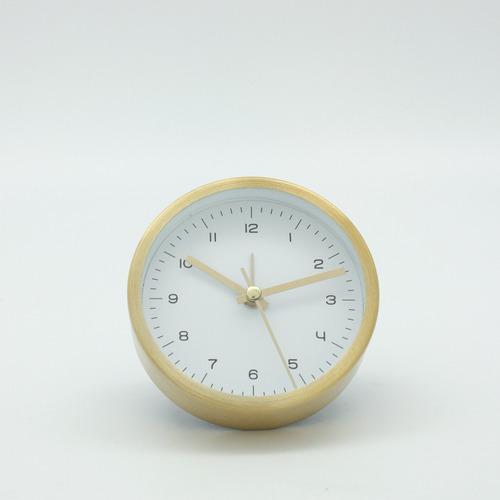 reloj de mesa gold  decoración morph