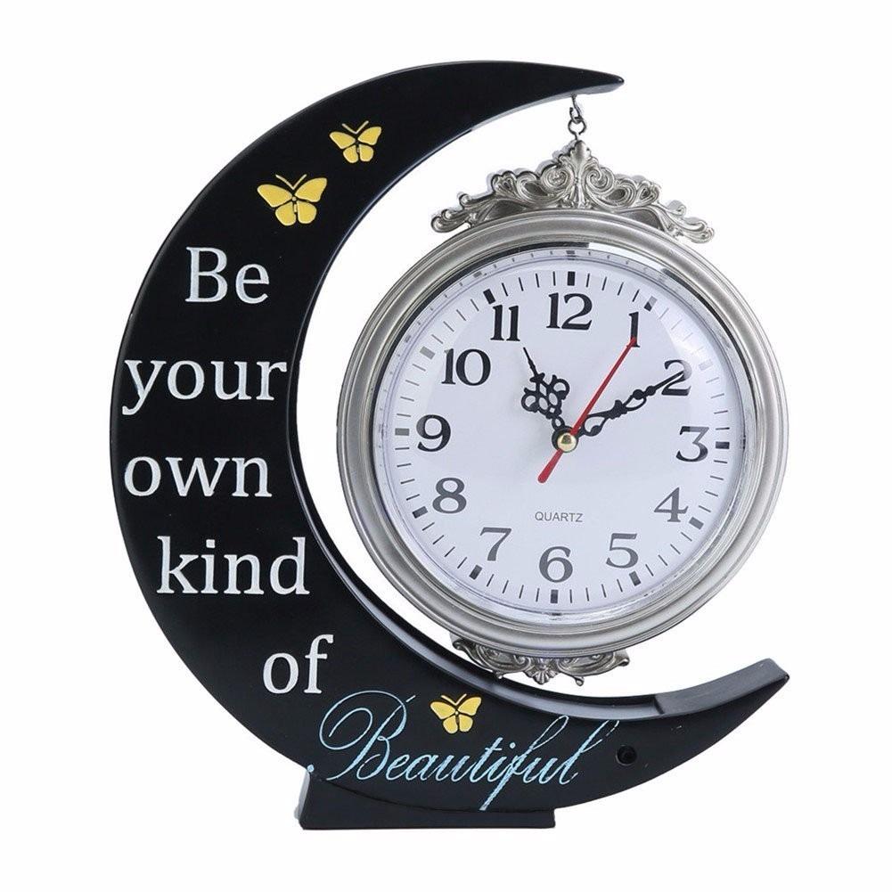 Reloj de mesa led decoracion luna amigos regalo 1 en mercado libre - Relojes de decoracion ...
