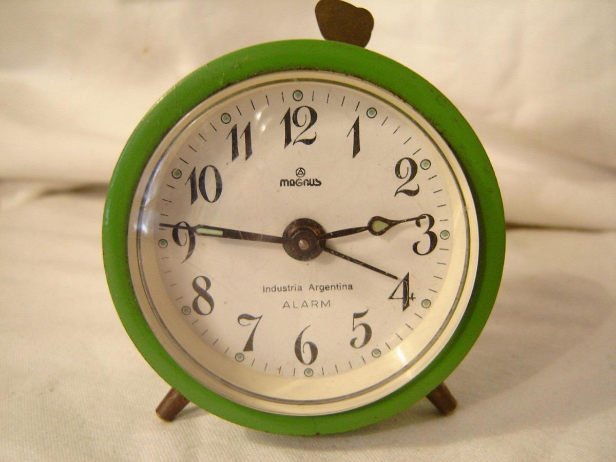 Reloj de mesa reloj vintage de mesa negro c gallos 10bnd025 - Relojes antiguos de mesa ...