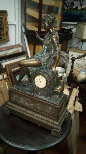 reloj de mesa vintage estilo antiguo funciona con bateria