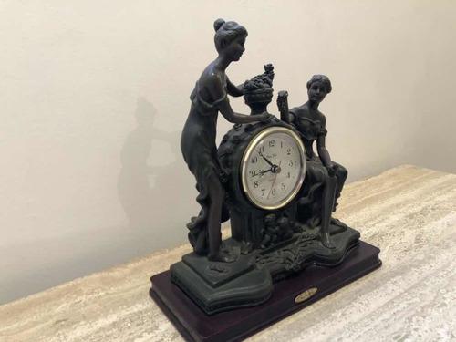 reloj de mesa,monti piero, poco uso, alabastro,