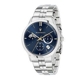 Moda Reloj Ricordo Maserati Y Inoxidable Acero Cuarzo De odBQhrxtsC