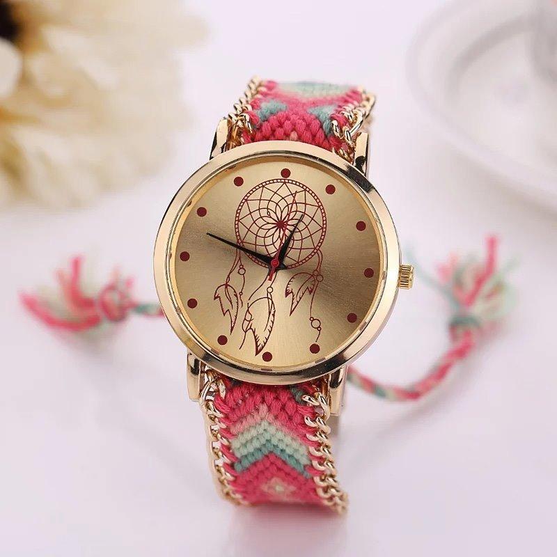 Reloj de moda vintage tejido atrapasueños dama mujer cargando zoom jpg  800x800 Mercado libre tejido atrapasueños c6dc0975edb4
