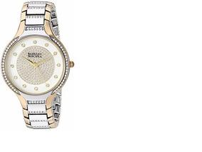 b5e99cd810d2 Reloj De Mujer Badgley Mischka Swarovski Ba/1375svtt