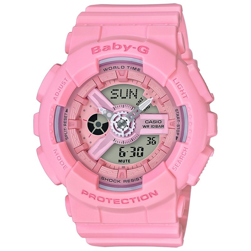 reloj de mujer casio baby-g g-shock resina (rosa) ba110-. Cargando zoom. 11ca6f8c32b7