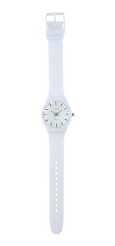 reloj de mujer extra liviano color blanco marca status s23g