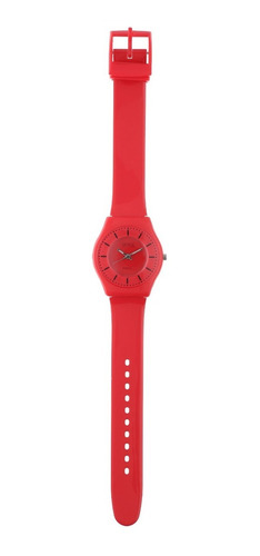 reloj de mujer extra liviano color rojo marca status s23g