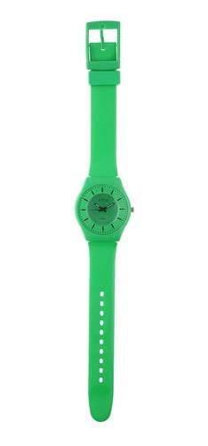 reloj de mujer extra liviano color verde marca status s23g