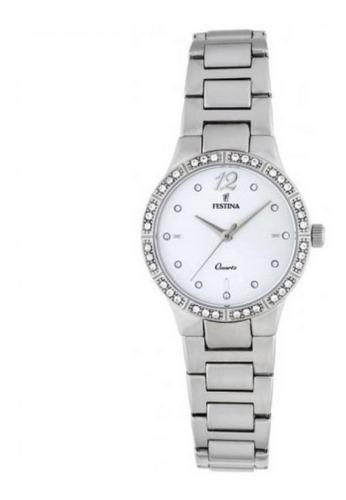reloj de mujer festina de vestir con piedras f20240