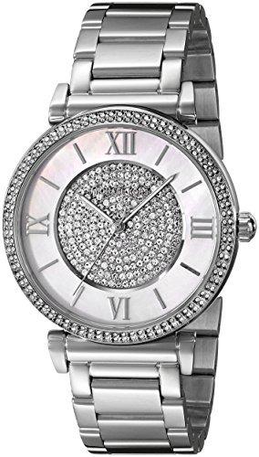 Mujer Reloj De Michael PlateadoMk3355 KorsColor OXkiTPZu