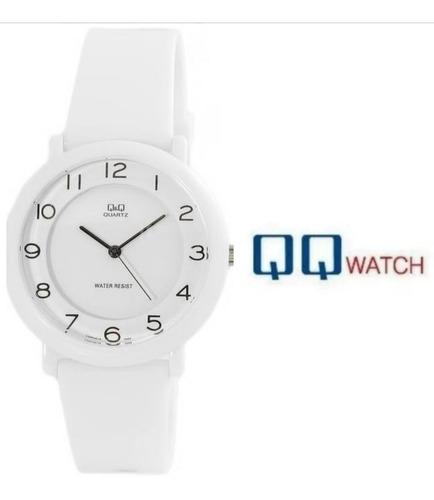 reloj de mujer para regalo original q&q blanco