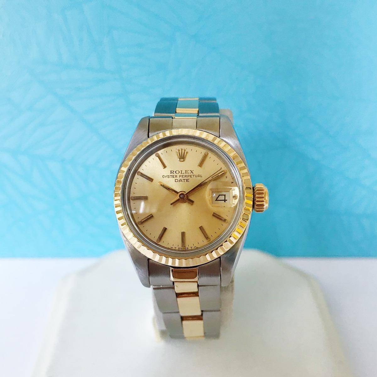 83f0fcae54c reloj de mujer rolex 6917 oyster perpetual date. Cargando zoom.