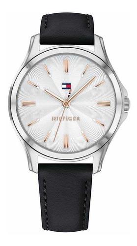 reloj de mujer tommy hilfiger con malla de cuero 1781953