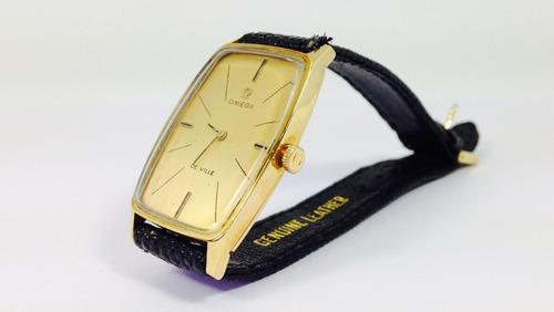 reloj de oro marca omega de ville, p/caballero (ref 911)