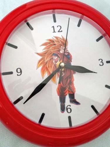 reloj de pared animados goku nuevo