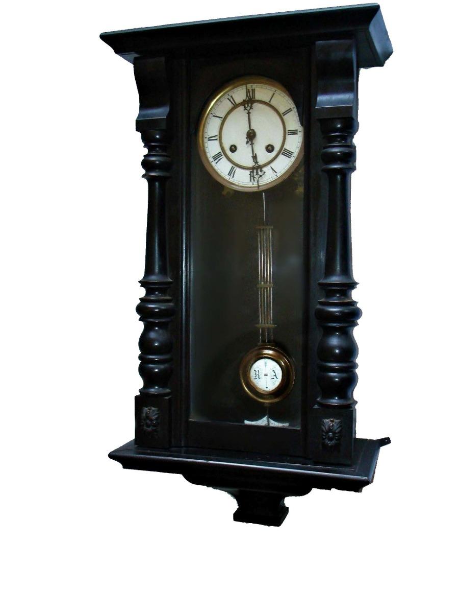 d09759b70da3 reloj de pared antiguo a péndulo 68 cm completo p reparar. Cargando zoom.