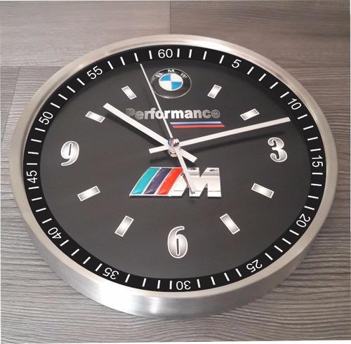 reloj de pared bmw. m3, m4, m5. performance