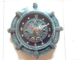 Reloj Reloj Reloj Calendario Azteca De Pared Pared De Calendario De Azteca ED9eW2IHY