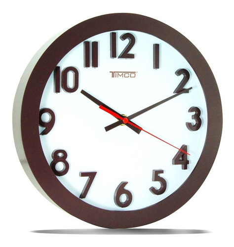 reloj de pared chico 24.8 cm rch-cho