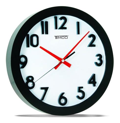 reloj de pared chico 24.8 cm rch-ne