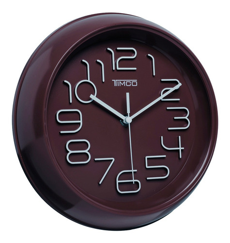 reloj de pared chocolate 26 cm an-cho