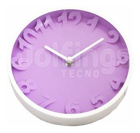 Reloj De Pared Cocina Diseño Deco Moderno Dia De La Madre