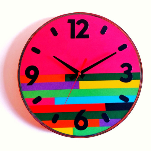 reloj de pared - colecciòn serpentina