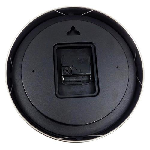 reloj de pared con medidor de temperatura y humedad ra-24a