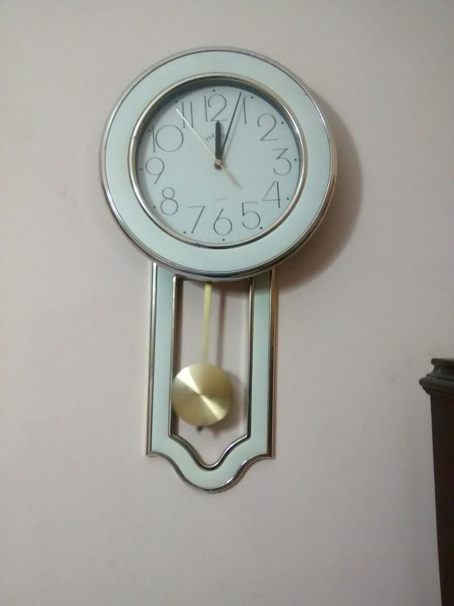 Reloj de pared con pendulo adidum for Reloj de pared con pendulo