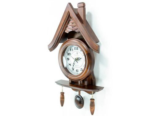 reloj de pared con techo 39 x 22 cm