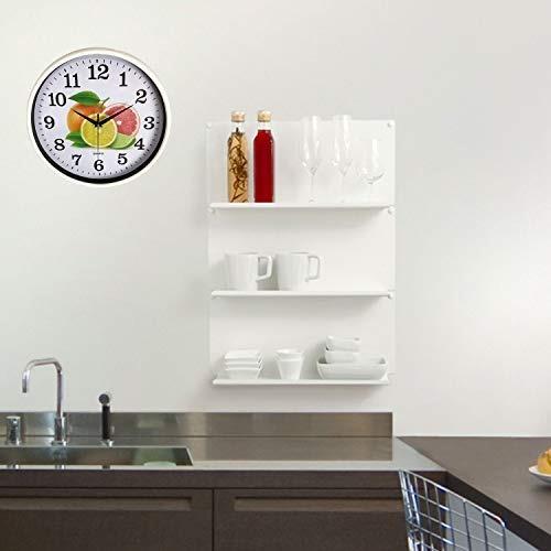 Reloj De Pared De Cocina Diseño Creativo Moderno Silencioso