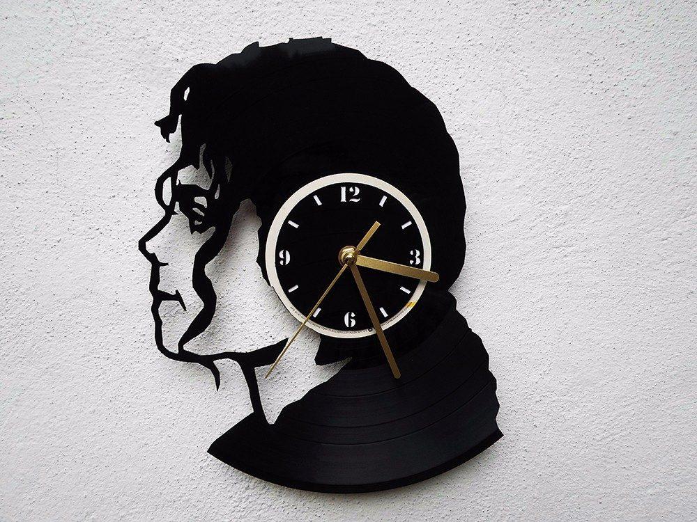 Reloj de pared disco de vinilo vinil acetato michael - Reloj vinilo pared ...