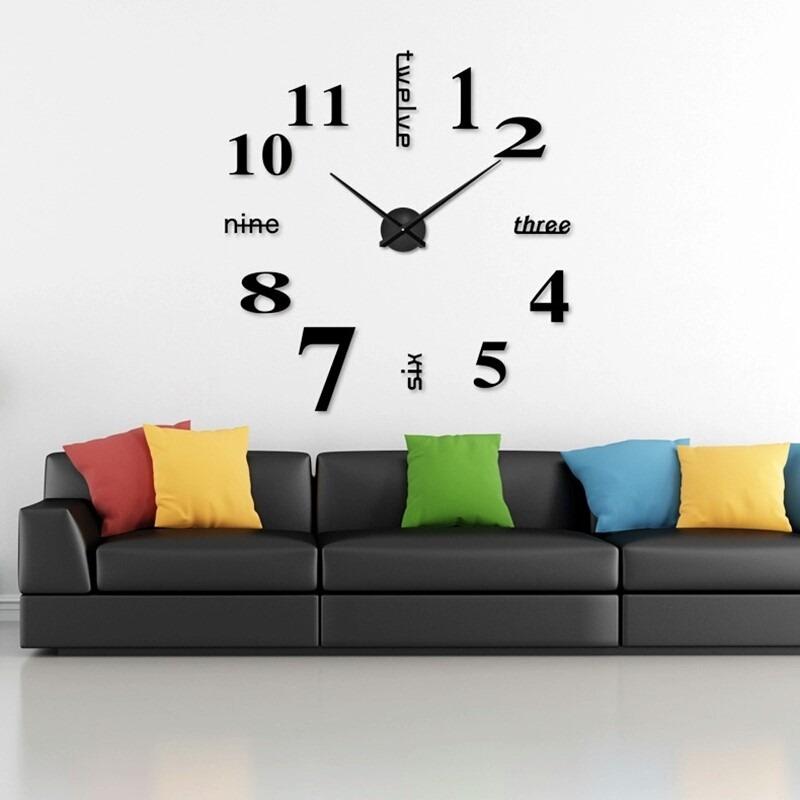 Reloj de pared dise o original muhsein 2017 env o gratis - Reloj pared diseno ...