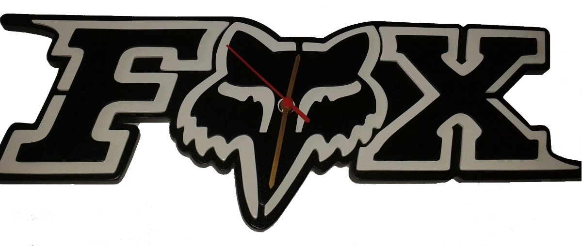Reloj De Pared Fox En Madera 90000 En Mercado Libre