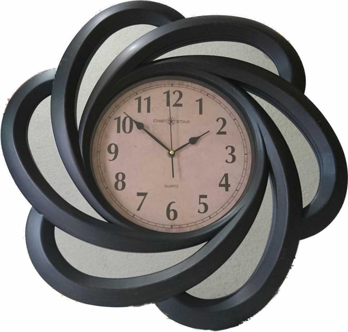 Reloj de pared gigante con espejos regalo para navidad - Reloj gigante pared ...