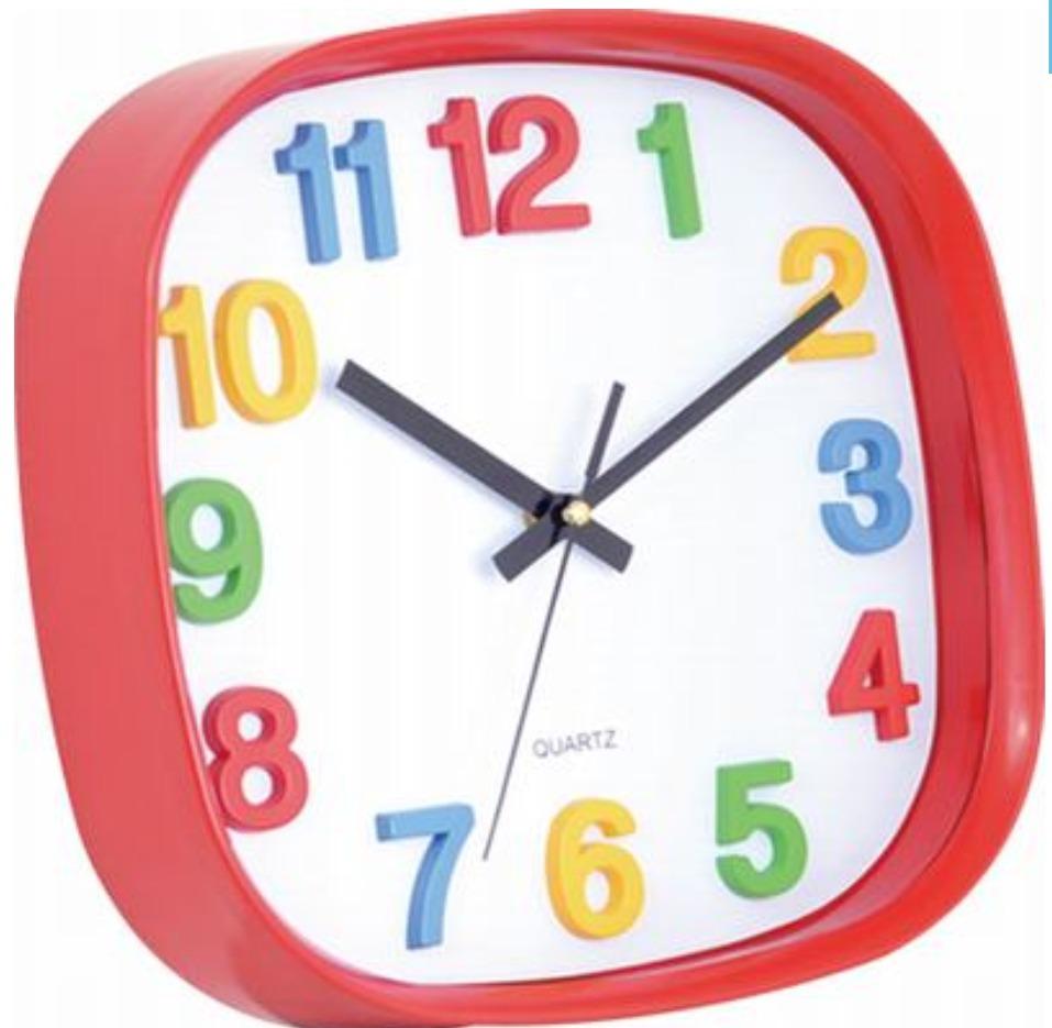 fc55ada3bdfb reloj de pared infantil chicos colores plastico. Cargando zoom.